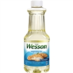 Wesson Pure Vegetable Oil - 24 Fl. Oz.