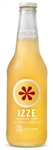 Izze Beverage Natural Peach Juice Bottle - 12 Oz.