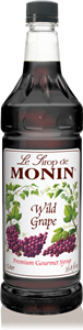 Monin Wild Grape - 1 Ltr.