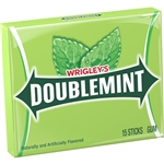 Wrigleys Single Serve Doublemint Gum 15 Piece