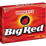 Wrigleys Big Red Single Serve Gum 15 Piece
