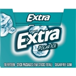 Wrigleys Extra Single Serve Polar Ice Gum 15 Piece