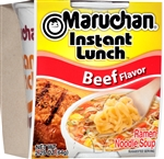 Maruchan Beef Flavor Instant Lunch 2.25 oz. Noodle Soup