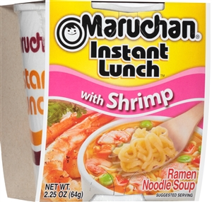Maruchan Instant Lunch Shrimp 2.25 oz. Noodle Soup