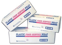 Inteplast PVC Food Wrap Film - 24 in. x 2000 in.