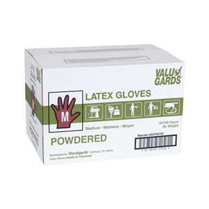 Handgard Eclipse Value Medium Powdered Latex Glove