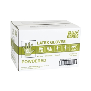 Handgard Eclipse Value Extra Large Powdered Latex Glove
