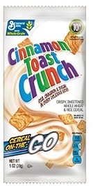 General Mills Cinnamon Toast Crunch Cereal In a Pouch - 1 Oz.