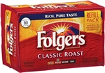 Folgers Classic Roast Regular Retail Bag Coffee - 11.3 Oz.