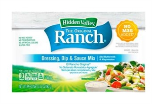 Hidden Valley Original Buttermilk Ranch Dressing Dry Mix - 3.2 Oz