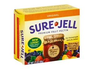 Kraft Nabisco Sure Jelly Fruit Pectin Gelatin - 1.75 Oz.