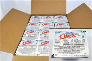 General Mills Rice Chex Cereal Bowl Pak - 0.68 Oz.