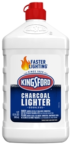 Kingsford Lighter Fluid Bottle - 32 Fl. Oz.