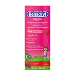 Benadryl Childrens Allergy Liquid Cherry - 4 Fl. Oz.