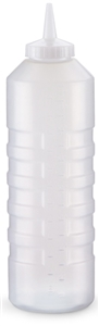 Clear Squeeze Dispenser with Standard - 24 oz.