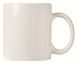 Ultima White Mug with Handle - 12 oz.