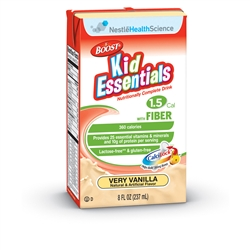 Boost Kid Essentials 1.5 Vanilla With Fiber Tetra Brik - 8.01 fl.oz.