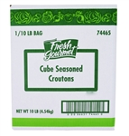 Fresh Gourmet Seasoned Croution Cube 10 Lb.