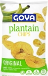 Goya Plantain Chips - 10 Oz.