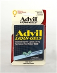 Advil Liquigels 4 Blistered