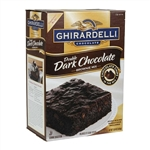 Continental Mills Ghirardelli Double Dark Brownie Mix - 120 Oz.