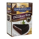 Ghirardelli Chocolate Decadence Torte - 90 Oz.