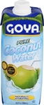 Goya 100 Percent Pure Coconut Water - 16.9 Oz.