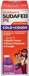 Childrens Sudafed Pe Cold and Cough Grape Liquid - 4 Fl. Oz.