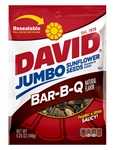David Roasted and Salted Bbq Sunflower Seeds - 5.25 oz.
