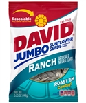 David Roasted And Salted Jumbo Ranch Sunflower Seeds - 5.25 oz.