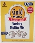 General Mills Gold Medal Whole Grain Variety Muffin Mix - 5 Lb.