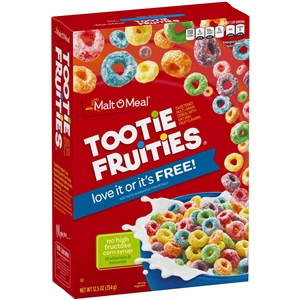 Malt-O-Meal Tootie Fruities Cereal 12.5 oz.