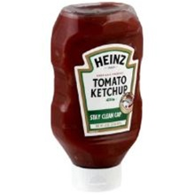 Heinz Stay Clean Cap Tomato Ketchup - 14 Oz.