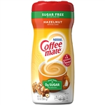 Coffee-Mate Creamer Sugar Free Hazelnut Powder - 10.2 Oz.
