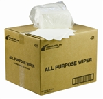 Atlantic Mills White All Purpose Wipes 12 in. x 13 in.