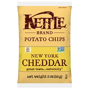 Kettle New York Cheddar Potato Chip - 2 Oz.