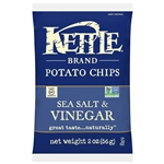 Kettle Sea Salt and Vinegar Potato Chip - 2 Oz.