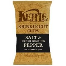 Kettle Institutional Salt and Ground Pepper Potato Chip - 20 Oz.