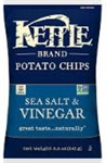 Kettle Sea Salt and Vinegar Potato Chips - 8.5 Oz.