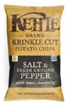 Kettle Krinkle Salt and Pepper Potato Chips - 8.5 Oz.