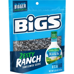 Thanasi Bigs Sunflower Seeds Zesty Ranch - 5.35 Oz.