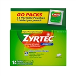 Zyrtec Allergy Tablets - 10 Ml.