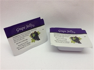 Mayo, Dressings and Condiments Sauers Cup Grape Jelly - 0.5 Oz.