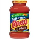 Ragu Old World Mushroom Sauce - 26 Oz.