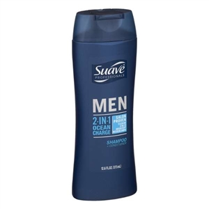 Shampoo Conditioner Suave 2-In-1 Men's - 12.6 Fl.Oz.