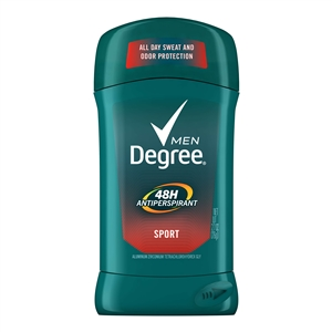 Unilever Best Foods Degree Antiperspirant Invisible Solid Sport Deodorant - 2.7 Oz.