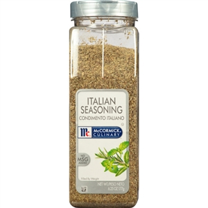 McCormick Italian No Msg 6.25 oz. Seasoning