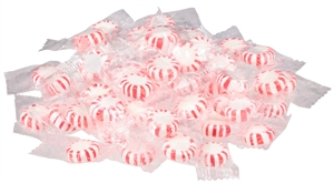 Candy Peppermint White Center - 5 Lb.