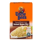 Uncle Bens Instant Brown Rice - 14 Oz.