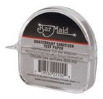 Bar Maid Sani-maid Quaternary Sanitizer Test Strips